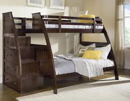 Black Wooden Bunk Beds Wooden Bunk Beds Black Stair Ideas