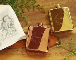 his and flasks his and hers flask etsy