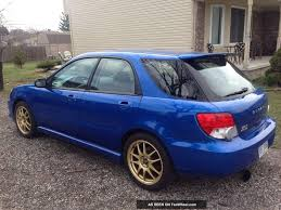 subaru rsti wagon 2002 wrx wagon with 06 07 front end swap and full sedan fender