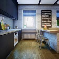 Faux Brick Kitchen Backsplash by Apartments Remarkable Exposed Brick Wall Kitchen Backsplash
