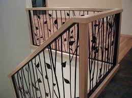 Indoor Banisters And Railings Twig Railings For Stairs Interior Design View Deck Railing Ideas