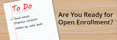 insurance agents are you ready for open enrollment