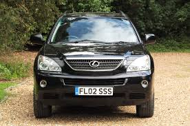lexus rx400h uk used lexus rx 400h se l cvt black 3 3 estate leatherhead