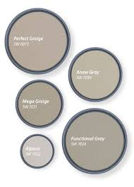 best greige cabinet colors our top 5 shades of greige tinted by sherwin williams
