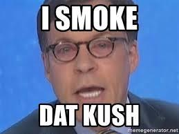 Bob Costas Meme - i smoke dat kush bob costas pink eye meme generator