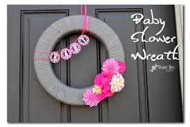 baby shower wreath baby shower wreath interchangeable sugar bee crafts