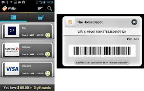 apps for gift cards 3 android apps for storing gift cards on your android phone like