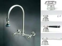 kitchen wall faucet wall mount kitchen faucets fascinating delta faucet 6 verdesmoke