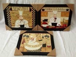 italian chef decor marcello chef five hook kitchen wall accent