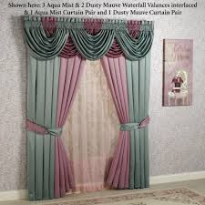 Valances Living Room Curtains With Valance For Living Room