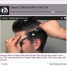 diy mens haircut classic tailored men s hair cut hair and beauty pinterest