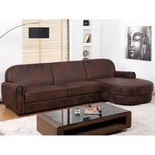 canapé d angle cuir vieilli canapé d angle en microfibre aspect cuir vieilli victory ii