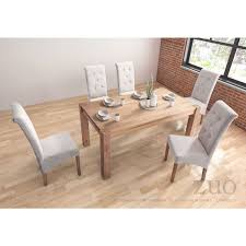 Lexington Dining Room Set by Zuo Modern 100439 Lexington Dining Table In Natural Elm Plank
