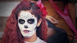 catrina costume guanajuato mexico 02 november 2014 model dressed with
