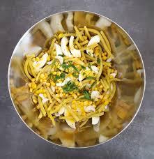 cuisiner haricots beurre salade toute jaune aux haricots beurre la cerise sur le maillot