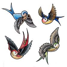 swallows tattoo design by gabchik on deviantart