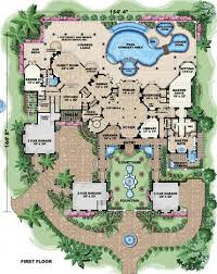 Mansion Plans House Plan 60489 At Familyhomeplans Com