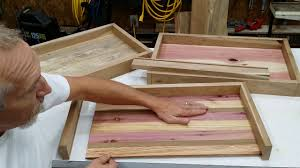 diy tray how to build a serving tray diy great gift idea youtube