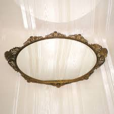 Antique Vanity Mirror Styles Mirrored Vanity Tray Vanity Mirror Tray Jeweled Vanity