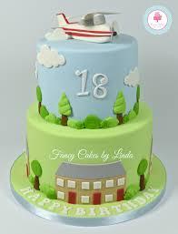 planes cake flying aeroplane 18th birthday cake τούρτες 18th