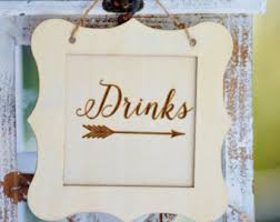 Wedding Buffet Signs by Dessert Labels Etsy