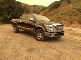 nissan truck 2017 first drive the 2017 nissan titan crew cab follows the herd