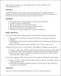 network security resume network analyst resume template premium