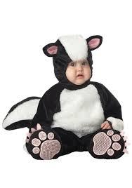 baby lil skunk costume infant animal halloween costumes