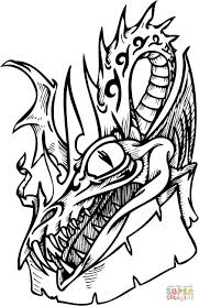 dangerous dragon coloring page free printable coloring pages
