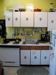 Interior Kitchen Cabinet Design Smart Small Kitchen Cabinet Decor Ideas With Damask Sticker Inside