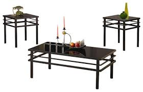 3 piece black coffee table sets magnificent black coffee table and end tables home furniture