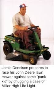 lawn mower racer arrested for dui fair city news