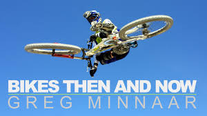 motocross mountain bike then and now greg minnaar u0027s rides from 2001 2015 bikes then and