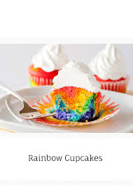 rainbow cupcakes baked bree