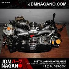 subaru impreza turbo engine jdm 02 05 subaru impreza wrx ej205 2 0l dohc turbo engine ej20 avcs