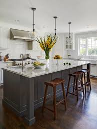 White Backsplash For Kitchen by Our 25 Best Transitional Kitchen Ideas Houzz