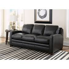 Best Leather Sleeper Sofa Dreamliner Top Grain Leather Sleeper Sofa The Best Bedroom