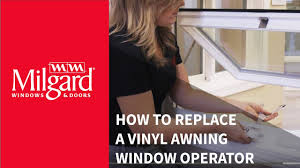 Awning Window Operators How To Replace A Vinyl Awning Window Operator Youtube