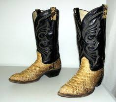 womens cowboy boots size 9 wide snakeskin cowboy boots mens size 10 5 d or womens size 12