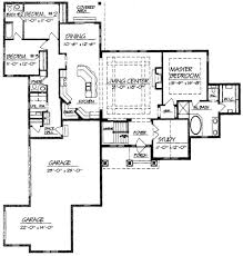 ranch style open floor plans with basement room schemes for