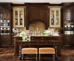 Stain Kitchen Cabinets Darker What Color Are The Cream Cabinets We Are Using Dark Walnut Stain