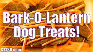 bark o u0027 lantern dog treats for halloween diy snacks with the