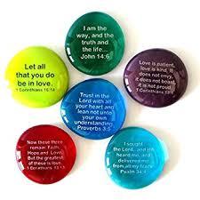 amazon scripture glass stones 6 favorite inspiring