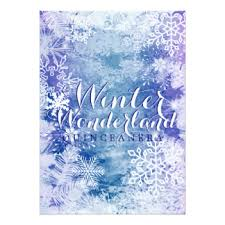 winter wonderland quinceañera invitations u0026 announcements zazzle