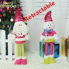 aliexpress buy retractable plush doll santa