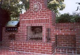 Outdoor Grill And Fireplace Designs - garden design garden design with diy building an outdoor