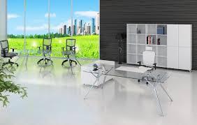 bureau transparent verre bureau direction verre à lyon ambiance prestige bureaux