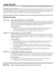 Sle Resume For A Banking bank resume sales banking lewesmr