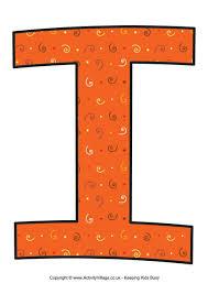 letter i 2