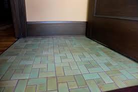 craftsman style flooring craftsman green entry floor craftsman entry minneapolis by